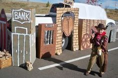 cute trunk or treat ideas eat up this play land, have levels to race through.. Set up stops throughout for sensory games.. Eyeball grape feel, spaghetti brains etc