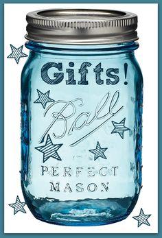 Mason Jar Gifts - Beautiful & Easy Mason Jar Gifts