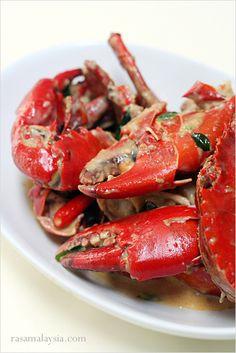 Butter Crab recipe