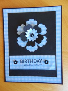 Dianne's cards--SU Mixed Bunch (sentiment Upsy Daisy)--Boho and Pansy punches