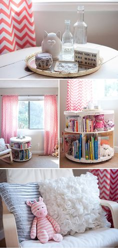 great lil side table for book storage next to baby's rocking chair... read to them during feeding time :) I have been wanting to make a spoil end table bookcase..