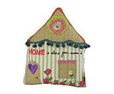 Cojín de patchwork Casa