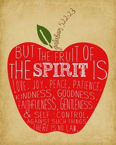 christians, teacher gifts, scripture art, god, faith, art prints, apples, christian quot, printabl
