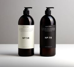 Striking product bottles