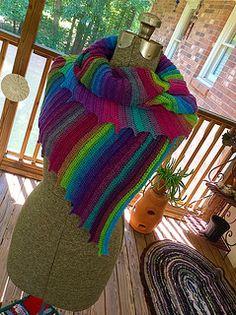 Whispers Shawl, crochet pattern http://www.ravelry.com/patterns/library/whispers-shawl-shawlette-or-scarf