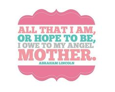 mother...