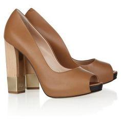 Bally stacked heels {love!}
