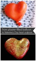 Heart Sculptures :: A Great Valentine's Day Craft & Gift! - The Artful Parent