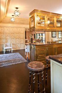 Serpent Bar Stool #kellywearstler #furniture #design