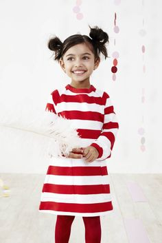 Striped Pocket Dress - Baobab Cltohing