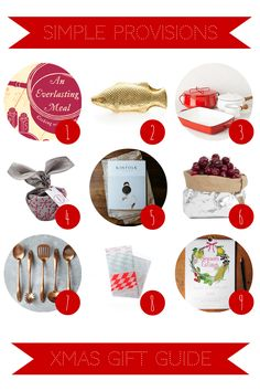 For food lovers - Christmas Gift Guide   Simple Provisions