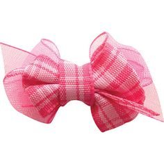 Help your pet feel oh-so-pretty with this Plaid Hair Bow from Fou Fou Dog.