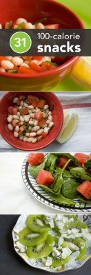 31 Healthy 100-Calorie Snacks