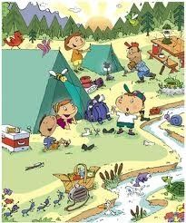 Camping with Kids Games and Hiking Activities
