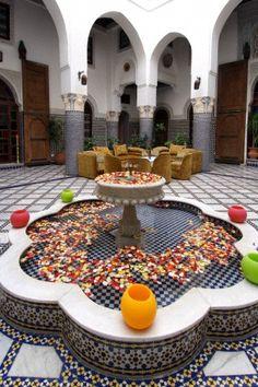 interior, courtyard