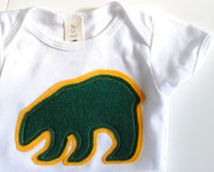 Cute onesie for the future #Baylor Bear! (found on Etsy)