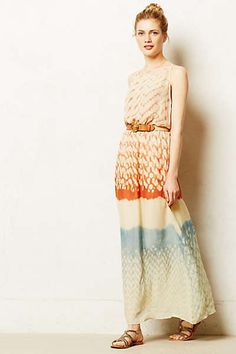 Anthropologie - Sunfade Maxi Dress