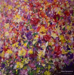 Mario Zampedroni, Flores, 2011. http://www.zampedroni.com/tag/abstract-flower-painting/# flower paintings, abstract flower