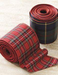 Red Tartan Ribbon