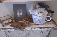 Lovely vignette (from Tarnished and Tattered)