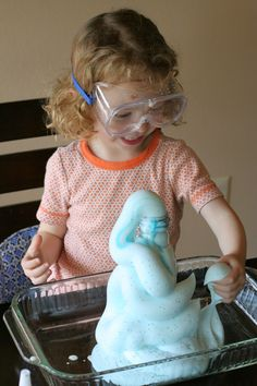 Fun Science Experiment for Kids:  Elephant Toothpaste! from Fun at Home with Kids