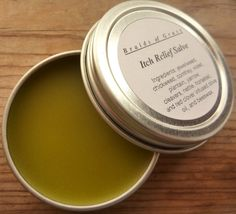 Herbal Itch-Relief Salve.