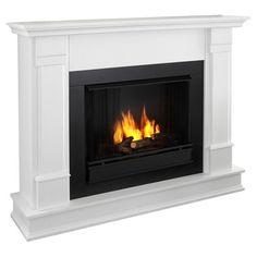 wayfair, white, fireplac option, electr fireplac, electric fireplaces