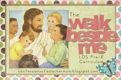 Letter of the week LDS preschool.