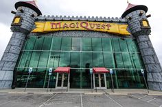 MagiQuest - MagiQuest Pigeon Forge is an interactive game that gives you the opportunity to become the main character in a virtual world. The game takes place in a huge 30,000 square foot castle that is located on the main strip in Pigeon Forge.