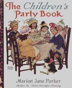 The Children's Party Book cover ill by Frances Tipton Hunter by katinthecupboard, via Flickr