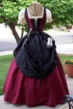 I want an outfit just like this so we can get back to SCA events!