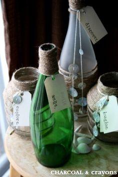 {Coastal Crafts} Beach Bottles