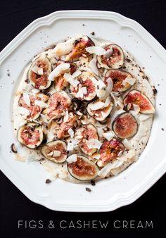 figs & cashew cream