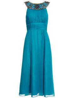teal bridesmaid dress