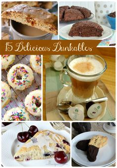 15 Delicious Dunkables- a round-up of #coffee dunkable recipes via thefrugalfoodiemama.com
