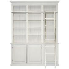 French style cupboards with ladder