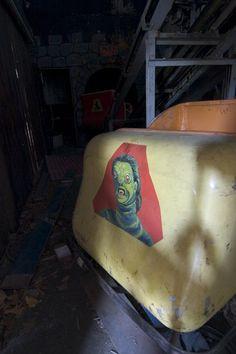 Rocky Point amusement park haunted house