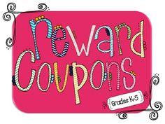 Super cute FREE reward cards