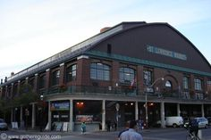 St. Lawrence Market in Toronto.  One of my favourite places to shop and eat cheese.