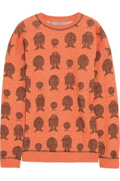 MULBERRY  Printed cotton sweater