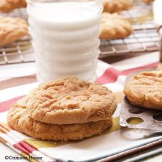 If you love peanut butter try Double Peanut Butter Cookies from our Big Book of Home Cooking cookbook.