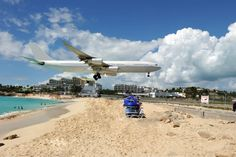 Maho Beach Saint Mar