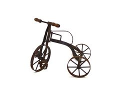 Pedal Away - Vintage Miniature Tin Tricycle