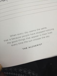 Quote from the Alchemist by Paulo Coelho