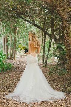 mermaid wedding dress mermaid wedding dresses #DonnaMorganEngaged