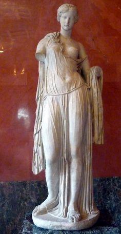 Aphrodite, Roman copy of Greek work of 4th-2nd century BCE. Hermitage Museum.