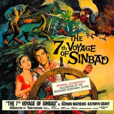 """""""The Seventh Voyage Of Sinbad"""" (1958, Dot/United Artists).  Music from the movie soundtrack."""