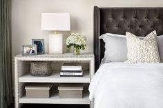 interior design, grey bedrooms, mstr bedroom, contemporari bedroom, master bedrooms
