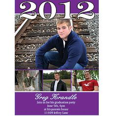 Show off all of your senior pics. graduat card, photographi ideas2, graduat photo, card featur, photo card, background color, senior pic, pic idea, graduat idea