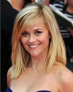 reesewitherspoon, reese witherspoon, medium haircuts, new haircuts, hair cut, side bangs, beauti, long bobs, medium hairstyles